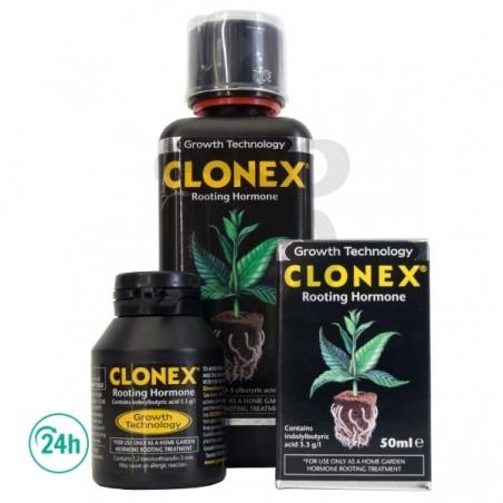 Clonex bottles