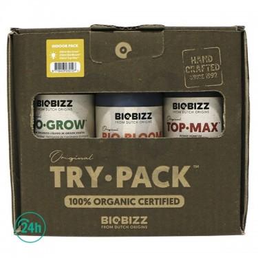 Caja BioBizz TryPack