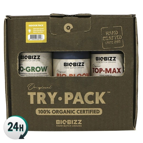 TryPack BioBizz - BioGrow, BioBloom, TopMax