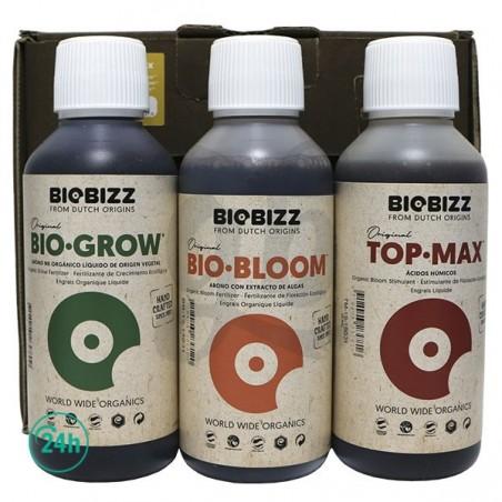 BioBizz TryPack - BioGrow, BioBloom, TopMax