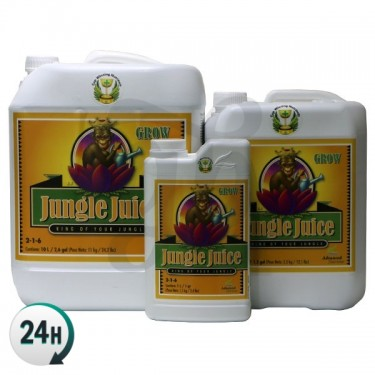 Garrafas de Jungle Juice Grow