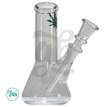Glass Leaf Bong