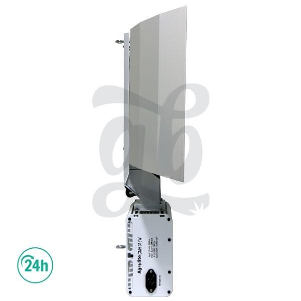 Luminaria Lec Agrolite 315W - Vista lateral