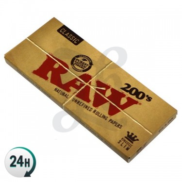 RAW King Size Slim 200's
