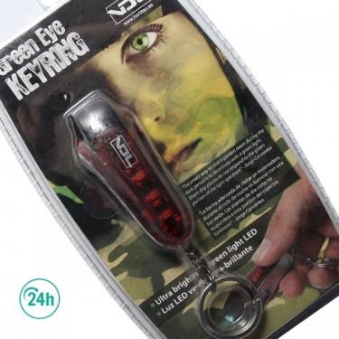 Porte-Clés avec Led Vert
