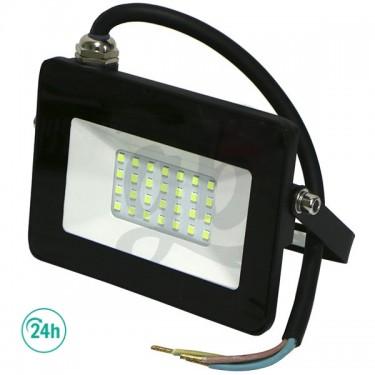 20w Green Light LED Floodlight | Black Edition