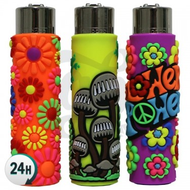 Clipper Lighter with Case - Funny Mix 1