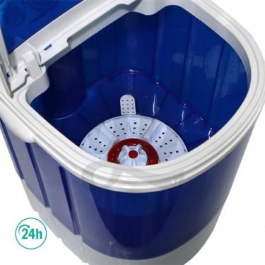 Lavadora Bubblextractor abierto