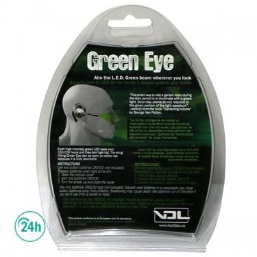 LED verde manos libres Green Eye - Embalaje e instrucciones