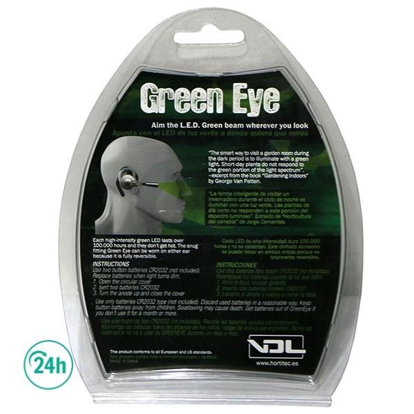 Hands Free Green Eye LED light