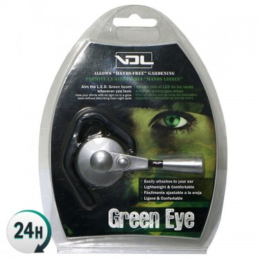LED verde manos libres Green Eye