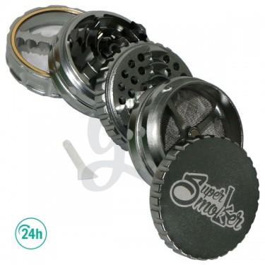 Grinder Doble Aluminio Giza 62mm 5 partes