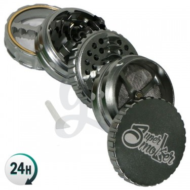 Grinder Double Aluminium...