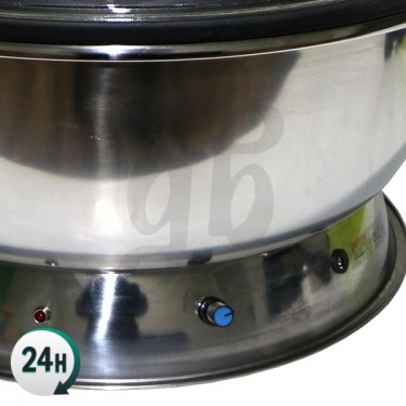 Effeuilleuse mixte avec coupole - potentiomètre