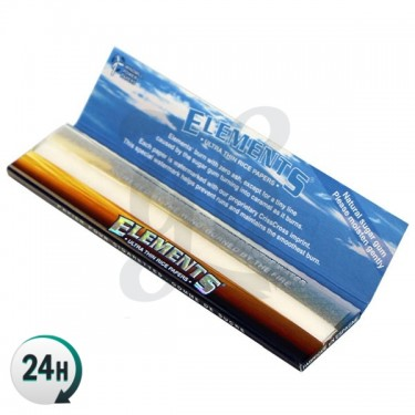 King Sized Elements Rice Papers - Open booklet