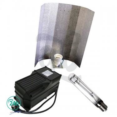 Kit de Iluminación Agrolite Clase 2 400W - reflector estuco