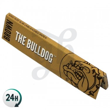 Papier à rouler The Bulldog King Size Slim