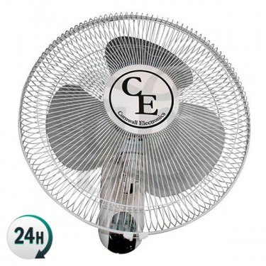Remote control wall fan