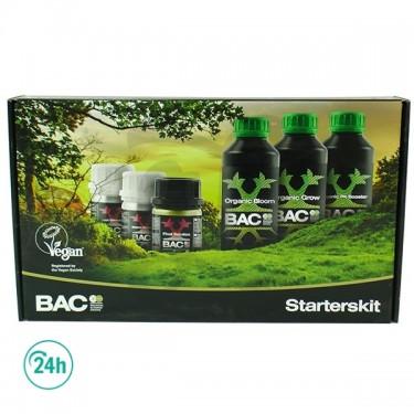 Organic Starters Kit de BAC - Embalaje