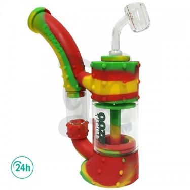 Pipa Stack para BHO y marihuana color verde