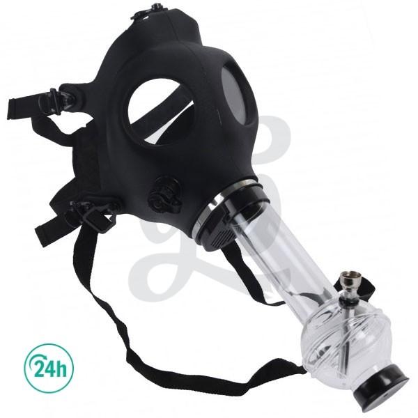 Máscara de gas - bong - negro