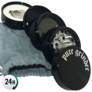 Grinder with Vibrator - Open