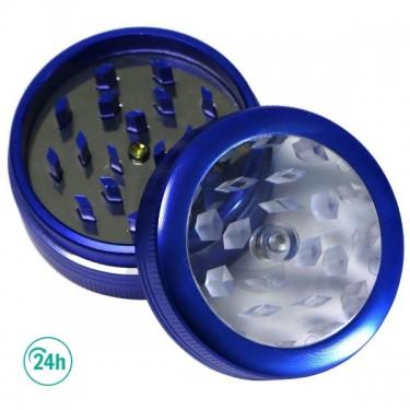 Button Grinder blue