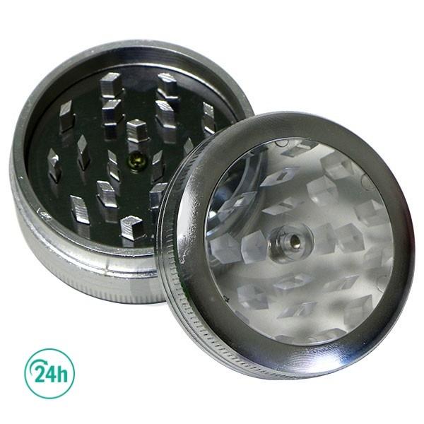 Button Grinder silver