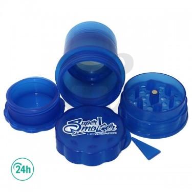 SuperHerb Safer Grinder - Blue
