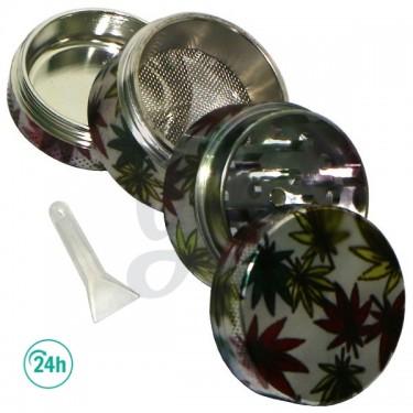 4-Part Metal grinder - open