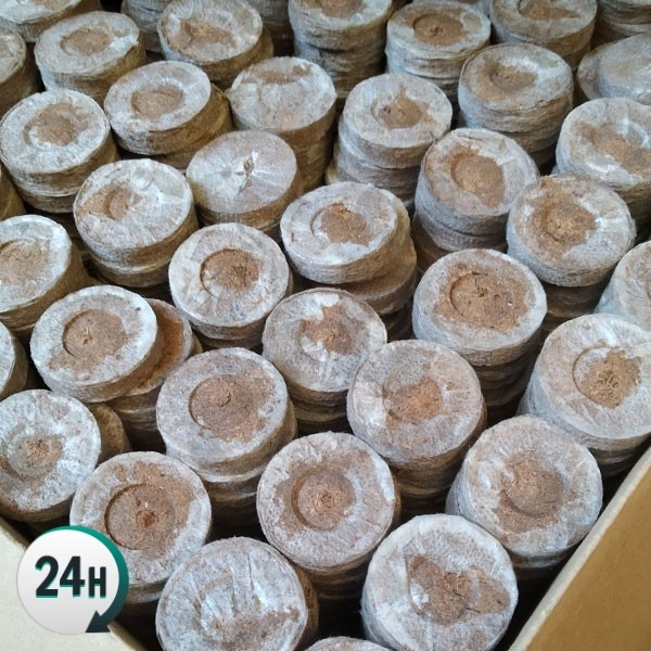 Caja de turba prensada Jiffy 41mm - 44mm