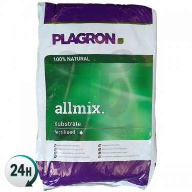 All-mix Plagron. Fertilized Substrate Plagron 100% Bio