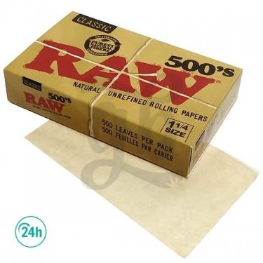 Papier RAW 500 1.1/4 Classic