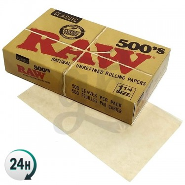 RAW 500 1.1/4 Classic Papers
