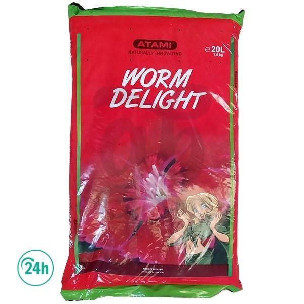 Saco de Humus Worm Delight Atami