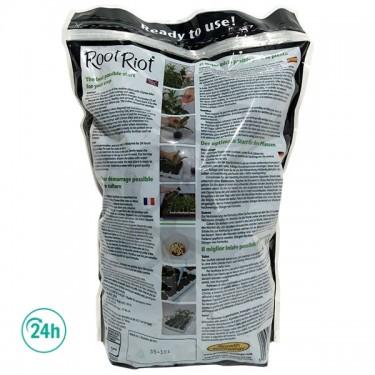 Saco de Root Riot Clonex por detrás