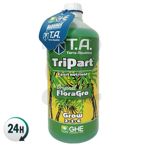 TriPart Grow bottle