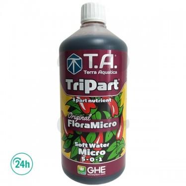 TriPart Micro SW (Eau faiblement minéralisée)