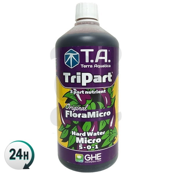 TriPart Micro HW (Eau fortement minéralisée)