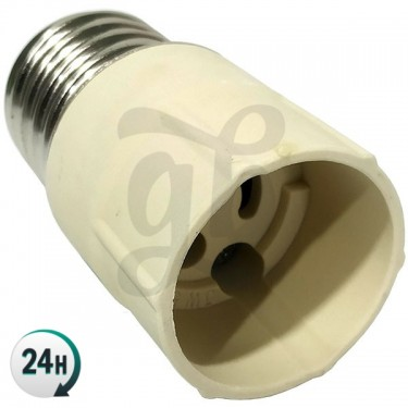 Casquillo adaptador para bombillas LEC