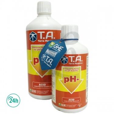 pH Down bottles
