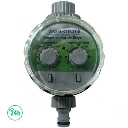Wassertec programador de riego analógico