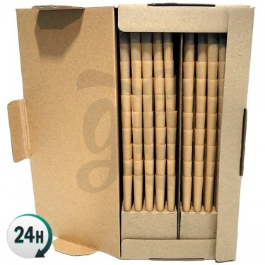 King Size Cones Brown Paper Box (1000 units)