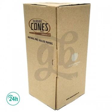 Caja 1000 Cones papel marrón