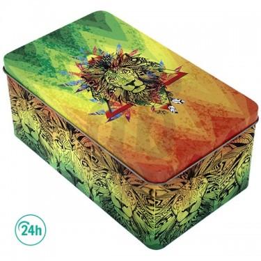 Rasta Lion Bong Box