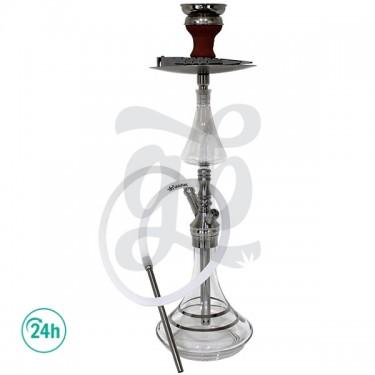 Shisha 60 cm The Silver Enchanter de DUD - Base de cristal