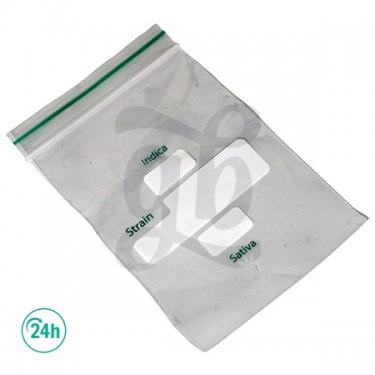 Sacs Plastique à Fermeture Zip
