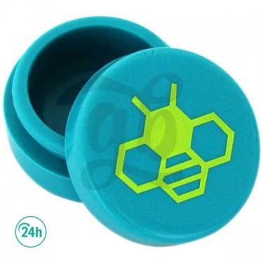 Cajita de silicona - Abeja azul