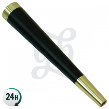 Aluminum Pipe with Carbon Filter - Mouthpiece