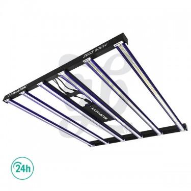 Sistema LED Zeus Lumatek de 5 barras de luz magnéticas